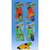 72 Units of 10 Water gun in PVC bag header card - Water Guns