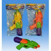 72 Units of Water gun in pvc bag header card - Water Guns