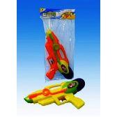 72 Units of 11 Water gun in PVC bag header card - Water Guns