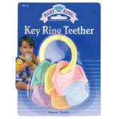 144 Units of HARD & SOFT KEYS TEETHERS - Baby Toys