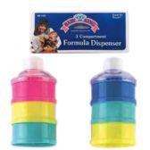 72 Units of 3 Compartment Formula Dispenser - Baby Bottles