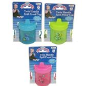 72 Units of SPILL PROOF CUP - Baby Utensils