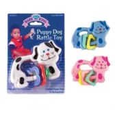 72 Units of Puppy Dog Rattle Toy
