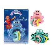 72 Units of Frog Rattle Toy - Baby Toys