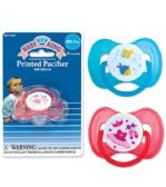 72 Units of Baby King Printed Pacifier - Baby Accessories