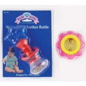 72 Units of WATER STAR SPIN TEETHER - Baby Toys