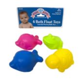72 Units of 4 BATH FLOAT TOYS - Baby Toys