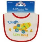 144 Units of Baby Self Closure Bib - Baby Apparel