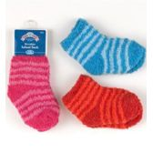 144 Units of Infant Fuzzy Sock - Baby Apparel