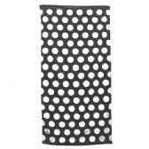 24 Units of Polka Dot Beach Towels - Black