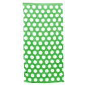 24 Units of Polka Dot Beach Towels - Kelly - Beach Towels