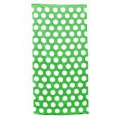 24 Units of Polka Dot Beach Towels - Kelly
