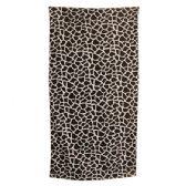 24 Units of Animal Print Beach Towel - Giraffe
