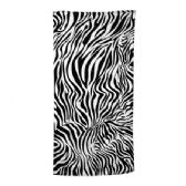 24 Units of Animal Print Beach Towel - Zebra