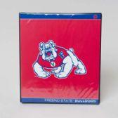 48 Units of Binder 3 Ring Vinyl Fresno State Bulldogs