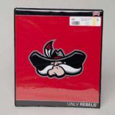 48 Units of Binder 3 Ring Vinyl University Running Rebels