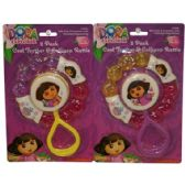 72 Units of Dora Ring Teether - Baby Toys