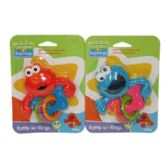 72 Units of SESAME RATTLE - Baby Toys