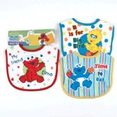 72 Units of Sesame Street Small Baby Bib - Baby Accessories