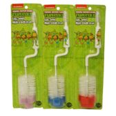 72 Units of TEENAGE MUTANT NINJA NIPPLE BRUSH - Baby Utensils