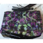 72 Units of Quality ladies zippered clutch