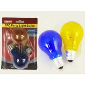 96 Units of 2pc Party Light Bulbs - LIGHT BULBS