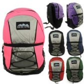 24 Units of 17 Inch Bungee Style BackPack