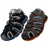 24 Units of Boy's Hiker Sport Sandals - Boys Flip Flops & Sandals
