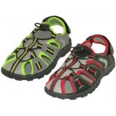 36 Units of Wholesale Youth's Hiker Sport Sandals - Kids Footwear