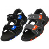24 Units of Wholesale Boy's Velcro Sport Sandals - Boys Flip Flops & Sandals