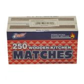 96 Units of 2PK MATCHES 250CT - BBQ supplies