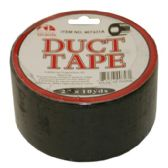 96 Units of DUCT TAPE 2 IN X 10 YRD BLACK