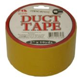 96 Units of DUCT TAPE 2 IN X 10 YRD YELLOW