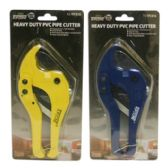 50 Units of HEAVY DUTY PVC PIPE CUTTER - Box Cutters and Blades