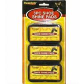 96 Units of 3PC SHOE SHINE PADS 4X2.5x1.6 IN - Footwear Accessories