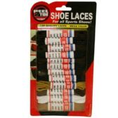 288 Units of 12PC ASSORTED SHOE LACES - Footwear Accessories