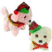 48 Units of Walking Holiday Dogs w/Light & Sound - Christmas