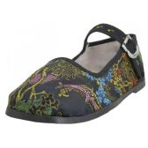 36 Units of Toddlers' Brocade Mary Janes ( Black Color Only) - Toddler Footwear