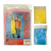 360 Units of PONCHO 1.5MM ASST COLORS