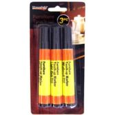 96 Units of 3PC FURNITURE TOUCH UP MARKERS