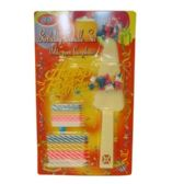 96 Units of BIRTHDAY CANDLE SET 50 COUNT - Candles & Accessories