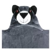 12 Units of Children's Blankets Black Bear - Comforters & Bed Sets