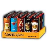 150 Units of Bic Cigarette LIghters Drinks - Lighters