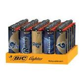 150 Units of Bic Cigarette LIghters Rams - Lighters