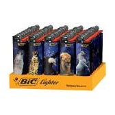 150 Units of Bic Cigarette LIghters Animals - Lighters