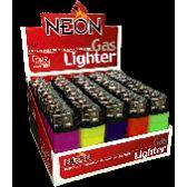 500 Units of Cigarette LIghters Neon Mini