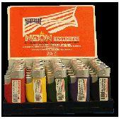 300 Units of Cigarette LIghters Neon Refills