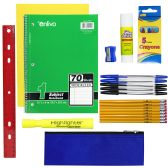 24 Units of 10 PIECE SCHOOL SUPPLY KIT - School Supply Kits
