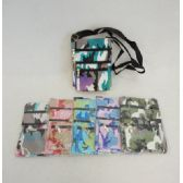 60 Units of Small Cross Body Bag [Dimpled Camo]