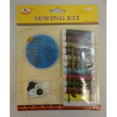 96 Units of Sewing Kit [Needles/Thread/Buttons] - SEWING KITS/NOTIONS